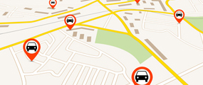 GPS無線配車
