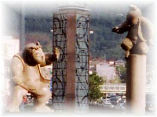 五条大橋 牛若丸と弁慶の像